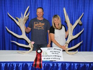 Alberta Elk Commission - 2017 Peoples Choice Winners