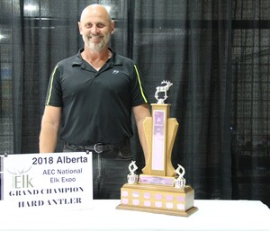 Alberta Elk Commission - 2018 Grand Champion Hard Antler