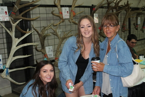 Alberta Ranched Elk - guests of the expo
